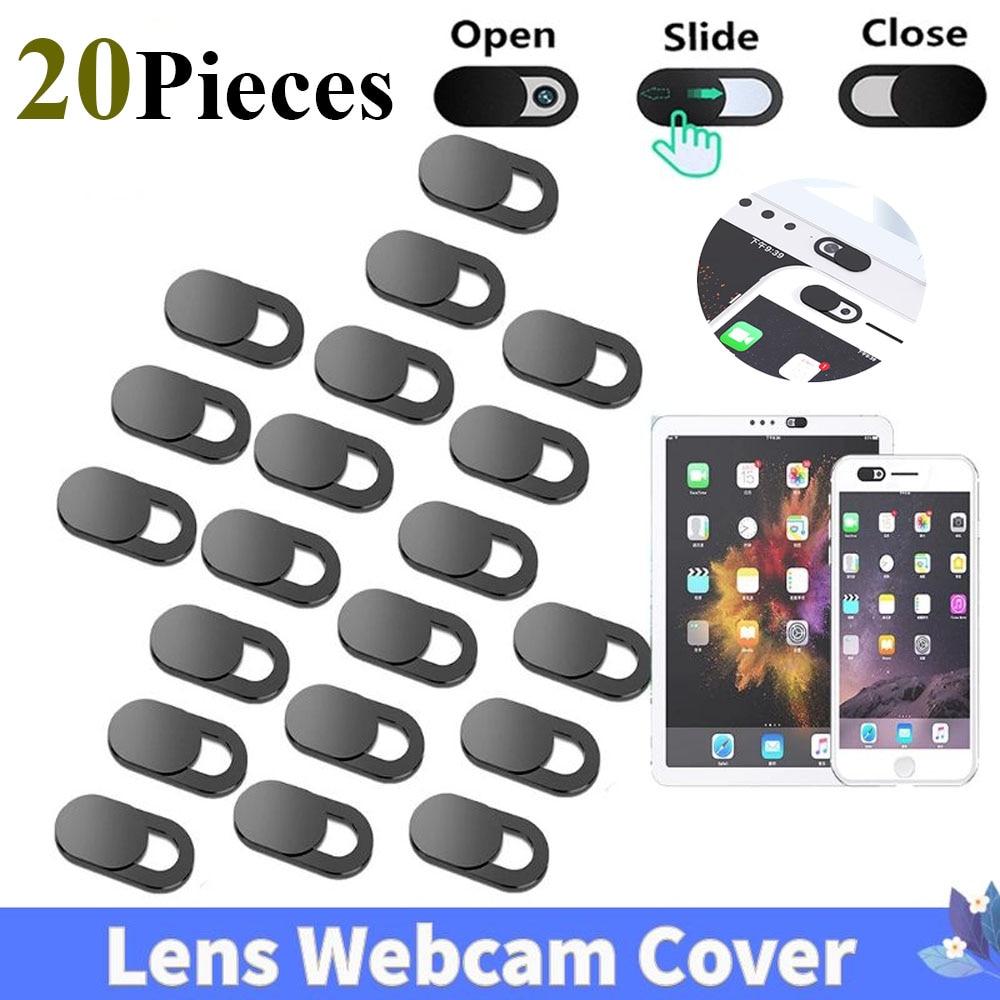 20PCS Universal Ultra-Thin Webcam Covers Lens Cap Web Portable Camera Cover for Laptops PC Macbook C