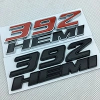 12242mm 392hemi metal label for jeep grand cherokee badge car label metal modified car sticker automobile decorative decal