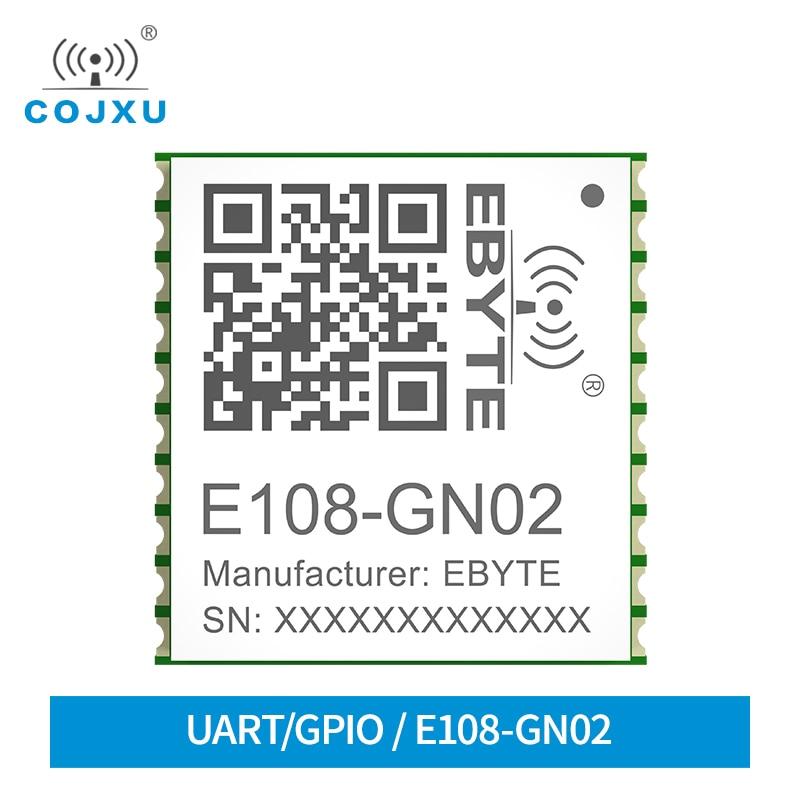 NMEA0183V4.1 Module 10Khz Refresh Global Range 2.8V TTL BDS/GPS/GLONASS/GALILEO /QZSS/SBAS SMD Satellite Positioning E108-GN02