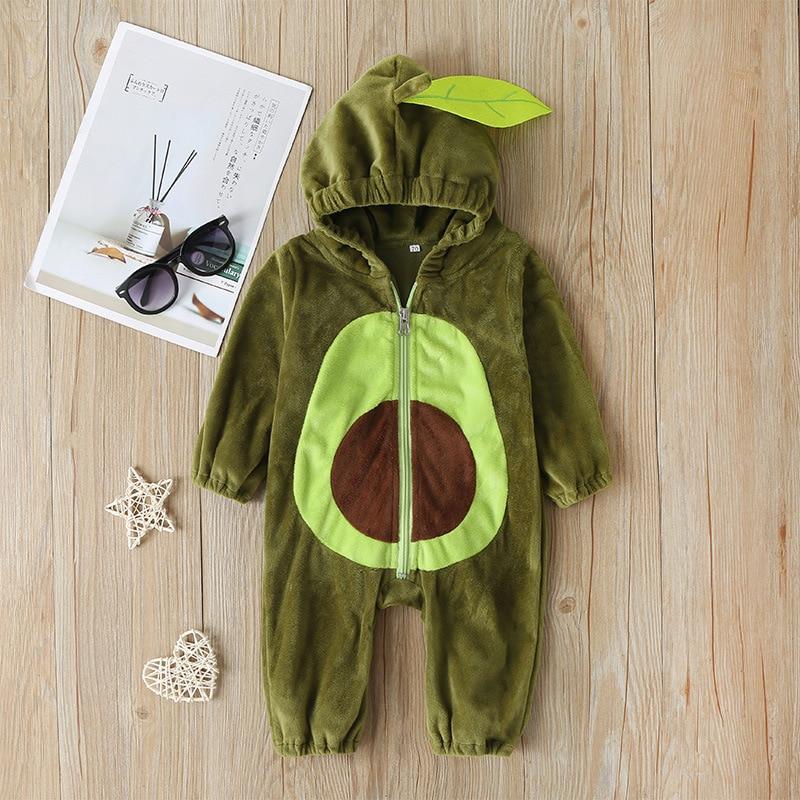 Bebé niño niña pantalones de invierno cálido recién nacido infantil de dibujos animados de manga larga de peluche de mono de bebé de otoño trajes de ropa de niño