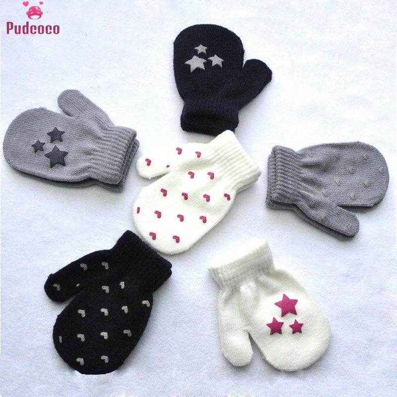 cardigans in sirdar snuggly baby crofter dk 1929 knitting pattern Girls Mittens Winter Kids Gloves Dot Star Heart Pattern Knitting Cotton Soft Warm Baby Boys Gifts