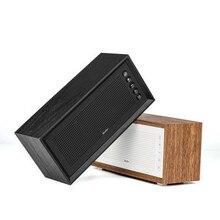 Vintage Wooden Subwoofer Wireless Bluetooth Speaker Outdoor Portable Card Speaker MP3 Subwoofer 20W High Power Support FM Radio