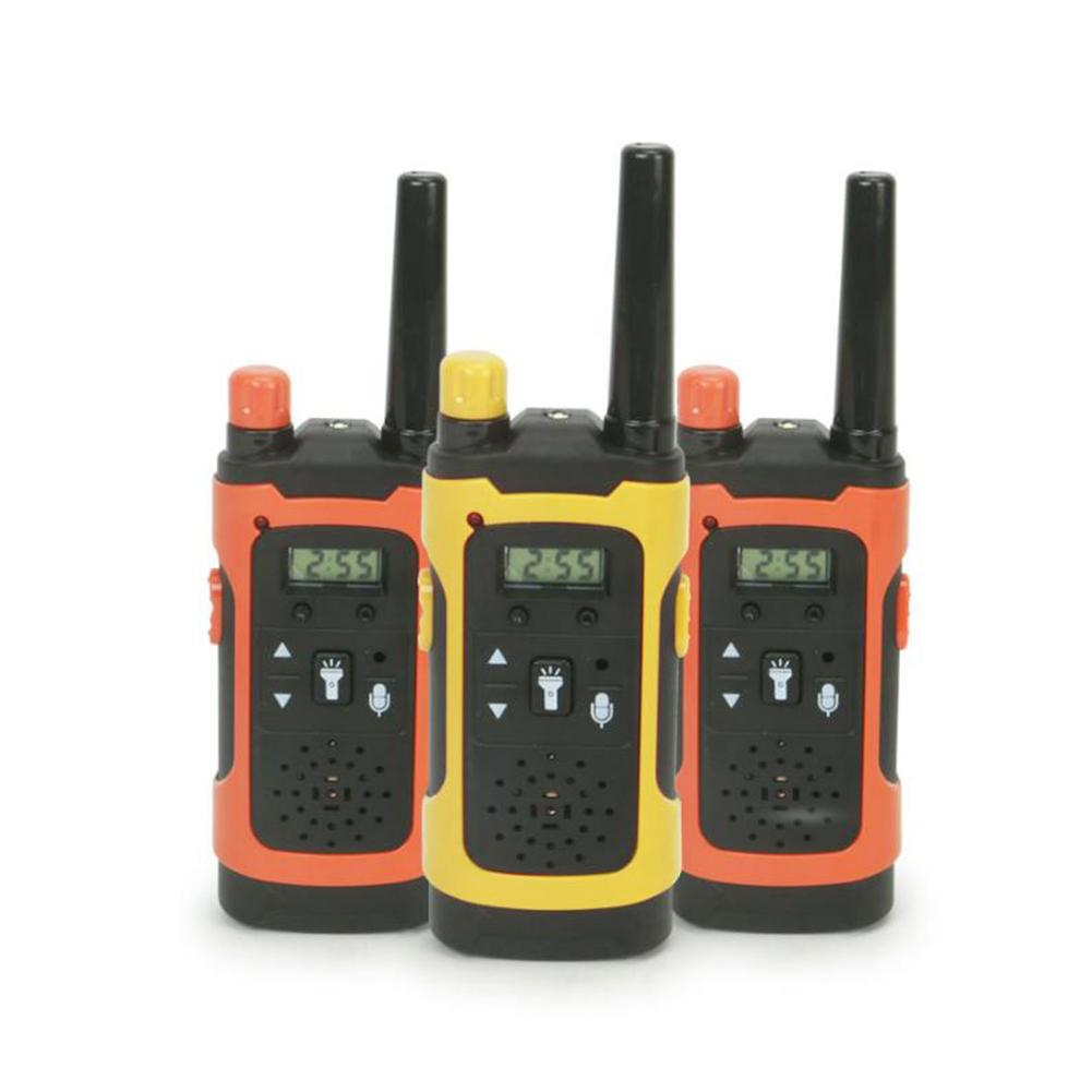 2pcs Toy Walkie Talkies Long Distance Mobile Phone Intercom Toy LCD Display Wireless Children Kids B