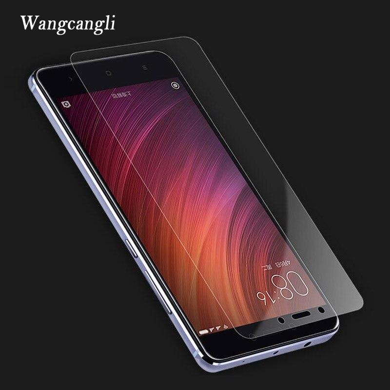 Adecuado para Xiaomi redmi 4x protector de pantalla para Xiaomi redmi note 4x 4A note 4 pro 3 vidrio templado transparente para teléfono móvil