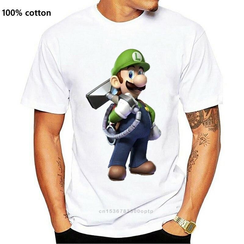 Los hombres de Luigis camiseta mansión camiseta negra