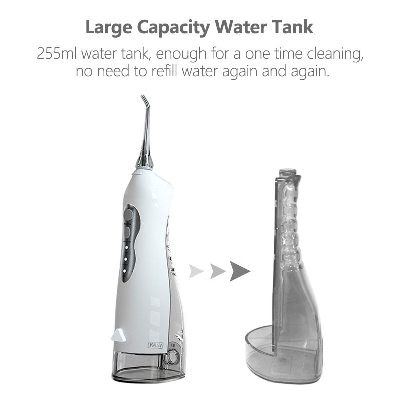 Electric Oral Irrigator 3 Mode USB Rechargeable Dental Water Flosser Family Travel Use Waterproof Water Jet Floss Teeth Cleaner enlarge