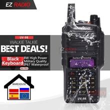2020 mise à niveau UV-9R Imperméable IP67 Talkie-walkie 10KM Baofeng UV-XR GT-3WP UV-5S UV-5R WP Radio Longue Portée UV-9R Plus Noir