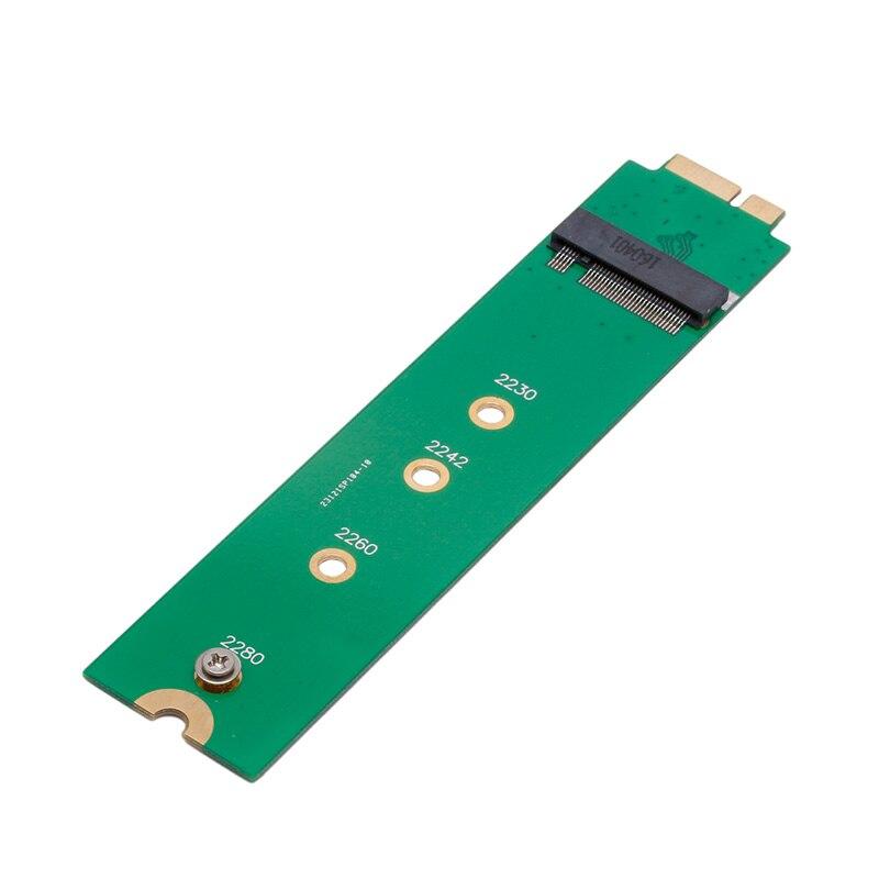 Nuevo m2 (NGFF) 128G/256G adaptador tarjeta SSD para 2010-2011 MACBOOK Air A1369 A1370