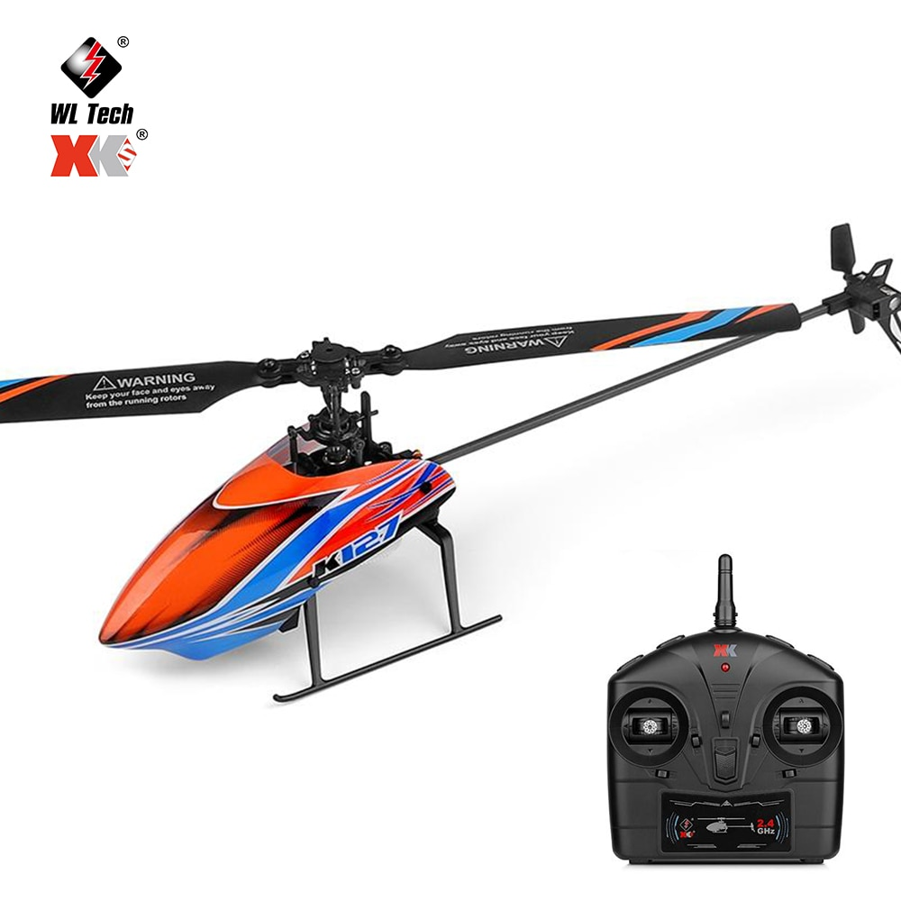 WLtoys K127 RC Helicopters 2.4g 4ch 6-Aixs Aileronless Single Blade Propeller Mini Rc Drone RC Toys V911 for Boys Gifts enlarge