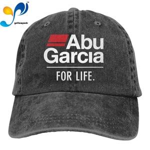 Fashion Hip hop Washed Baseball Cap Abu Garcia For Life Wild Hat Adjustable Men And Women Outdoor Sun Hats Trucker Caps