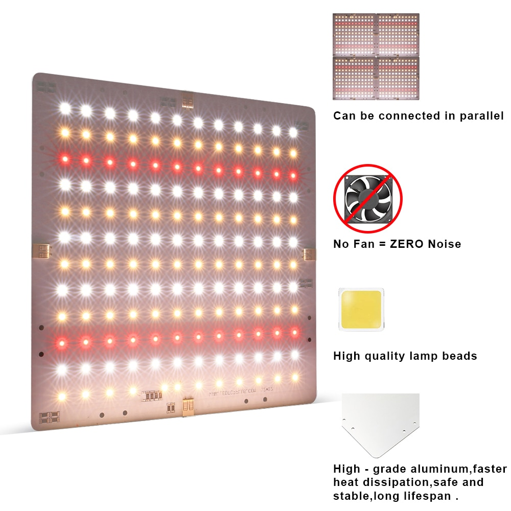 2000w Led Grow Light Ultra-thin Panel Full Spectrum Quantum Board For Indoor Plants Vegetables Flowers Meanwell Driver enlarge