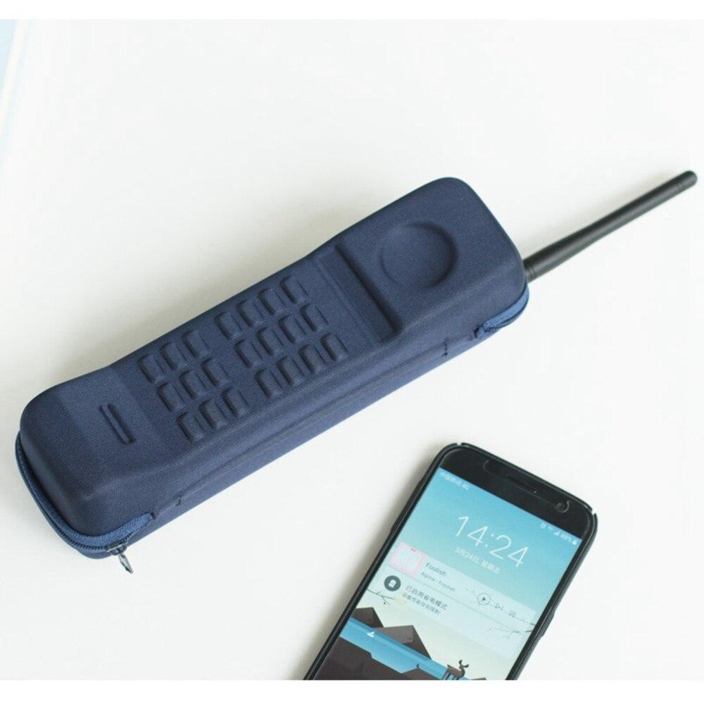 Bonita y creativa funda de lápices para teléfono móvil para niños y niñas suministros escolares papelería bolsa para bolígrafos kawaii cuadrado estuche para lápices para estudiantes regalo