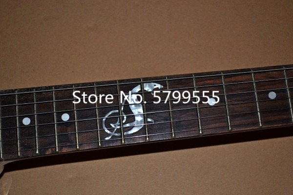 Classic special-shaped 6-wire electric guitar, serpentine Mosaic, free delivery enlarge