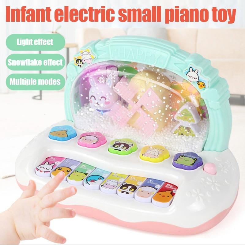 Instrumento Musical juguete Animal granja Piano música regalo educativo para niños S7JN