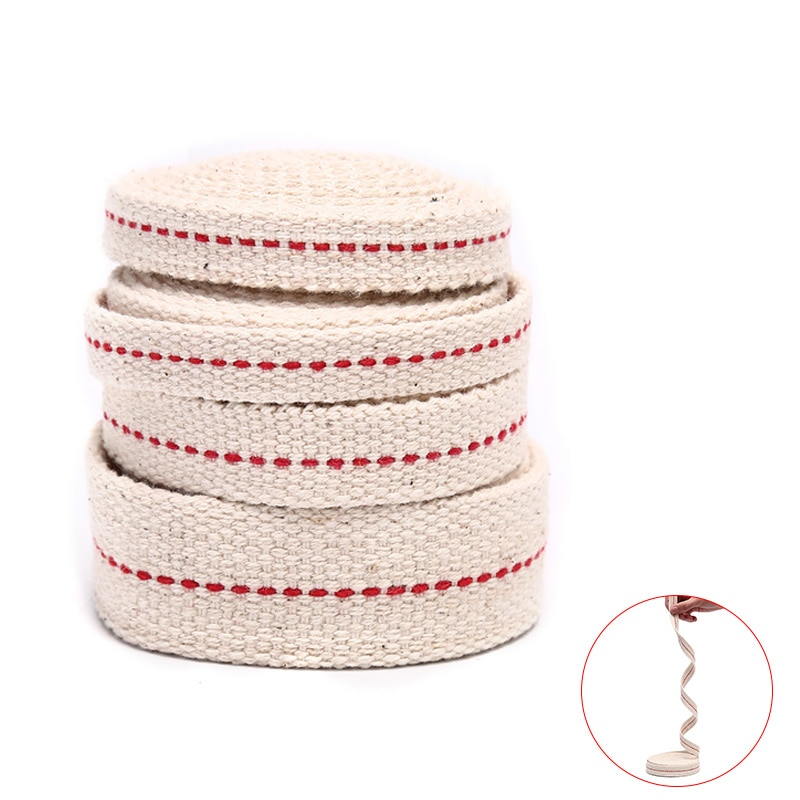 1Meter Kerosene Lamp Wick Braided Cotton Flat Oil for