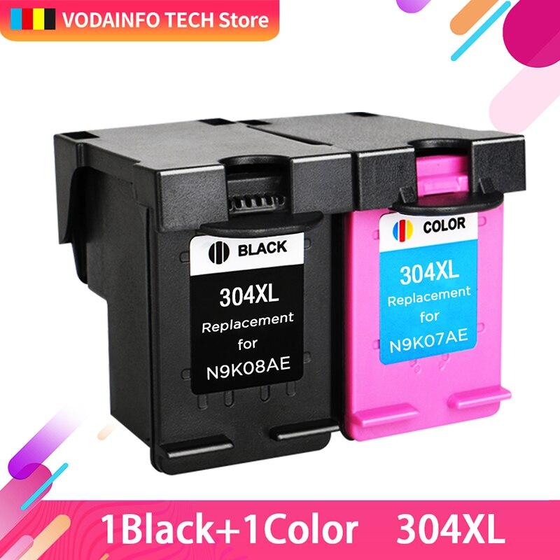 Royek Ink Cartridge 304XL Replacement for Hp304 Hp 304 XL Deskjet Envy 2620 2630 2632 5030 5020 5032 3720 3730 5010 Printer