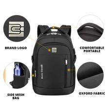 Business School Outdoor Sports Anti-theft Laptop Backpack Men and Women City Walking Bag USB Chargin