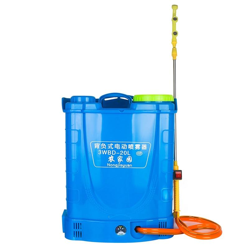 20L بطارية ليثيوم رذاذ كهربائي المبيدات الزراعية الذكية ارتفاع ضغط تهمة موزع معدات تجهيز حدائق