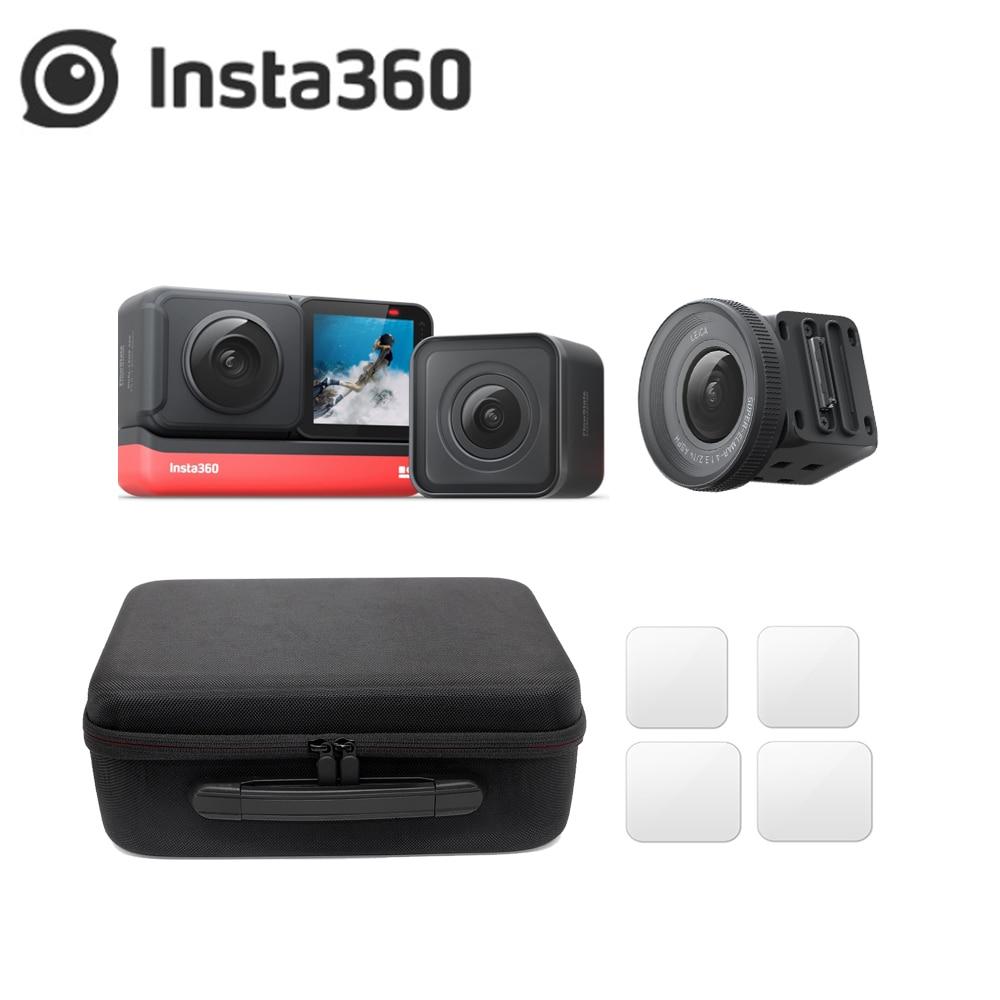 Original Insta360 ONE R 5,7 K 360 lente Mod/4K Gran Angular/1 pulgada Leica lente deporte acción Cámara