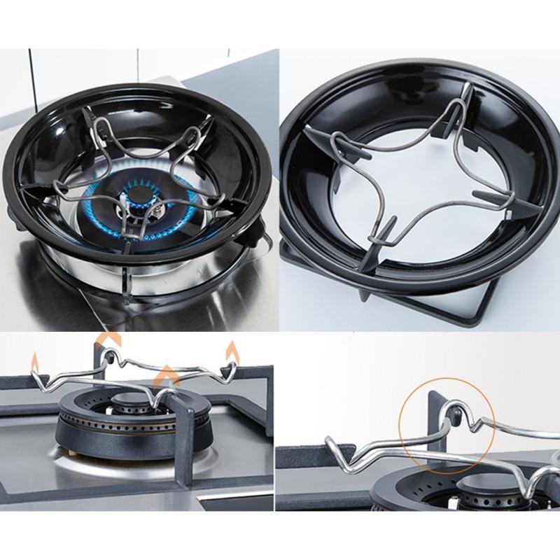 Soporte Universal para olla, accesorios de cocina de acero inoxidable superior para cafetera y horneado