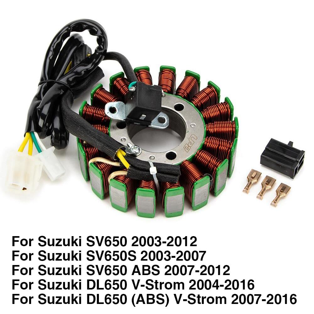 لفافة ثابتة لسوزوكي SV650 SV650S DL650 فولت-ستروم DL650 ABS فولت ستروم SV 650 650 S 32101-17G00 مولد مغناطيسي