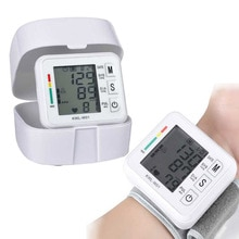 Home health care blutdruck meter Puls messung werkzeug Tragbare LCD Oberen Arm Blutdruck Monitor Tonometer maschine