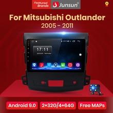 Junsun V1 radio coche 2G + 32G Android 8,1 4G coche Radio reproductor Multimedia navegación GPS para Mitsubishi Outlander xl 2 2005-2011 2din centro multimedia android no DVD