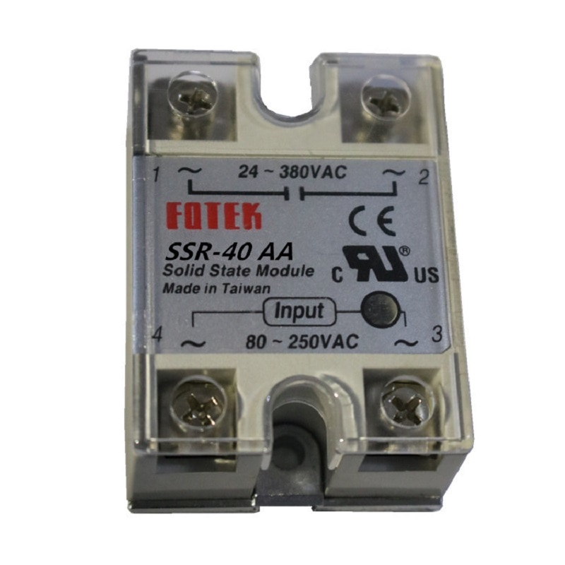 solid state module SSR-40AA  40A solid state relay ac to ac new недорого