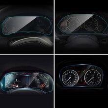 Del instrumento del coche Panel de pantalla Protector película para BMW E90 F30 F31 F32 F33 F34 F35 G05 G07 G11 G12 G20 G21 3 4 serie 7 X5 X7