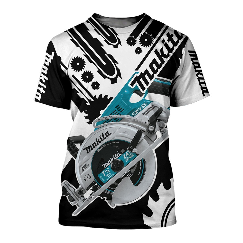 New Fashion T-shirt 3D Printed Chainsaw Tee Shirt O-neck Large Mens Pullover Summer Casual Tshirts T-213