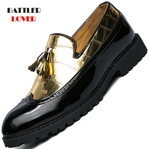 New Fashion Men Casual Shoes Breathable Leather Loafers Office Shoes For Male Driving Moccasins Comfortable Slip on Big Size 47