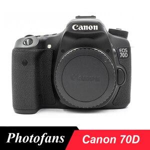 Цифровая зеркальная камера Canon 70D, сенсорный экран Vari-Angle, видео, Wi-Fi