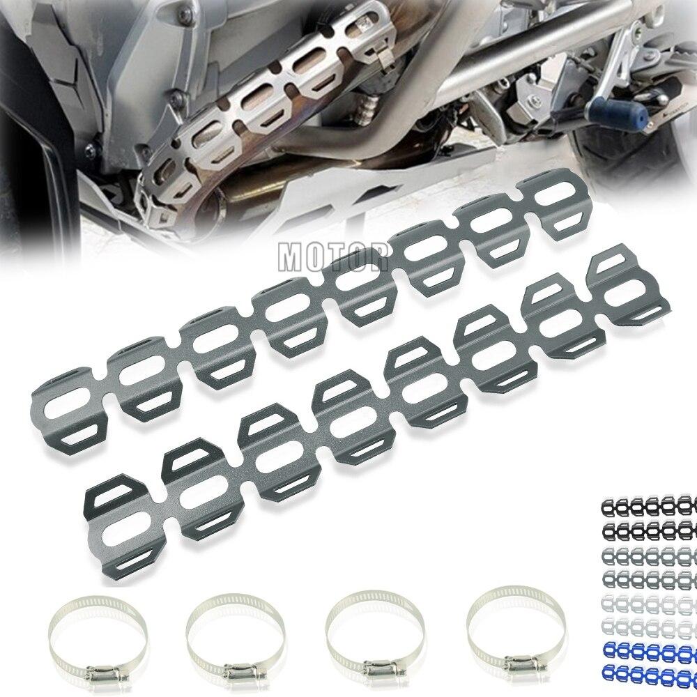 Escape de la motocicleta silenciador tubo de protección de calor escudo protector de la cubierta para BMW F650GS F650 GS F 650GS 2008-2020 de 2019 2018, 2017, 2016,