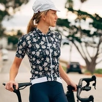 cafe du cycliste top ladies cycling wear ciclismo mtb ropa maillot cycling tops summer short sleeved shirt outdoor team uniform