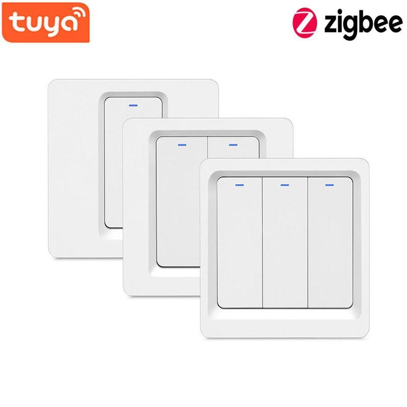 atualizado wifi zigbee interruptor de botao inteligente nao ha necessidade de configuracoes