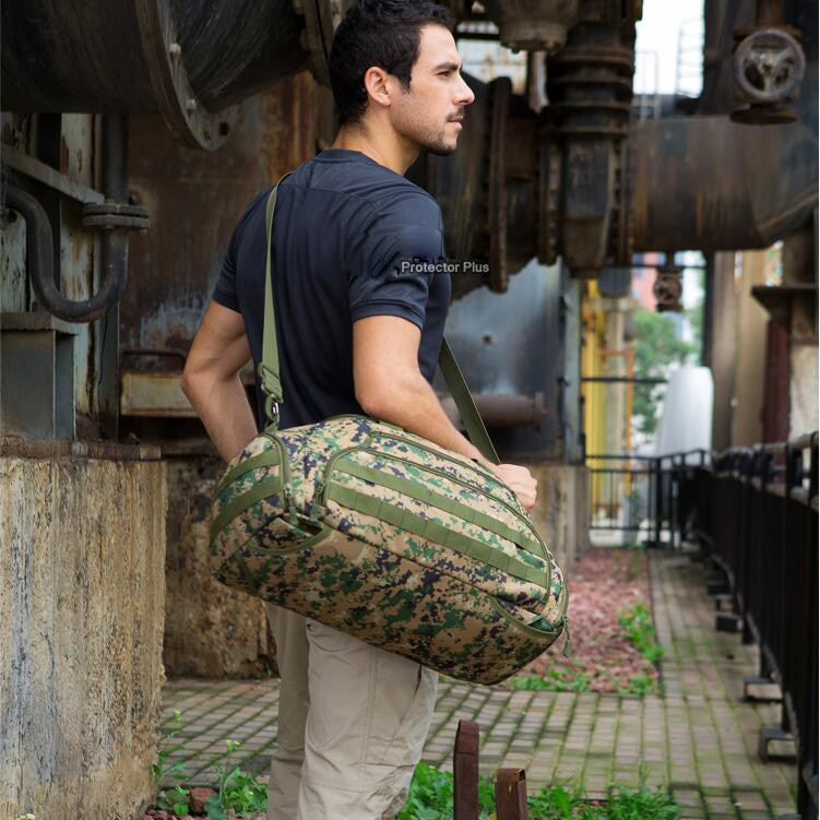 excellent elite spanker waterproof military tactical nylon hunting pouch bag multi function outdoor backpack hiking shoulder bag Tactical BackPack Outdoor Sports Shoes Bag Jogging Hiking Hunting Bags Climbing Camping Waterproof Bags Multi Function Package