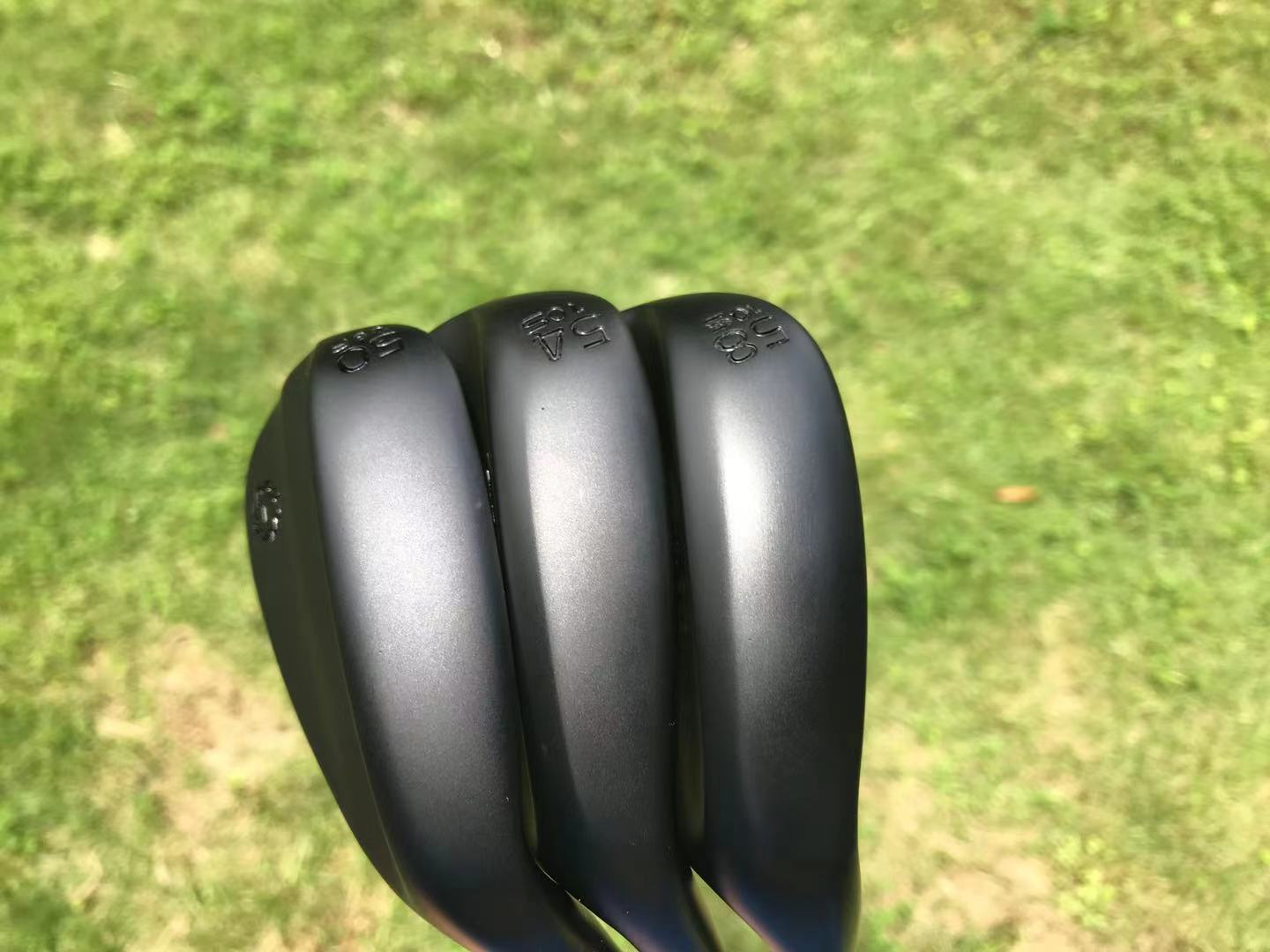 Golf clubs Golf SM7 wedges black Right Handed 50-08F 54-10S 58-10S degrees 3pcs S300 or R300 Steel shaft