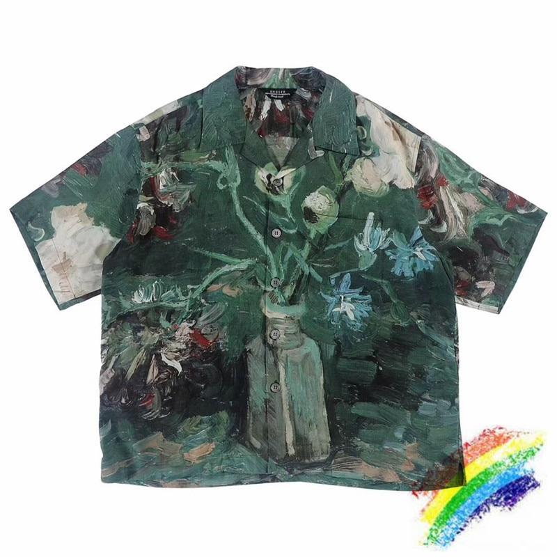 2019 Van Gogh pintura al óleo camisa hombres mujeres 11 alta calidad moda camisetas