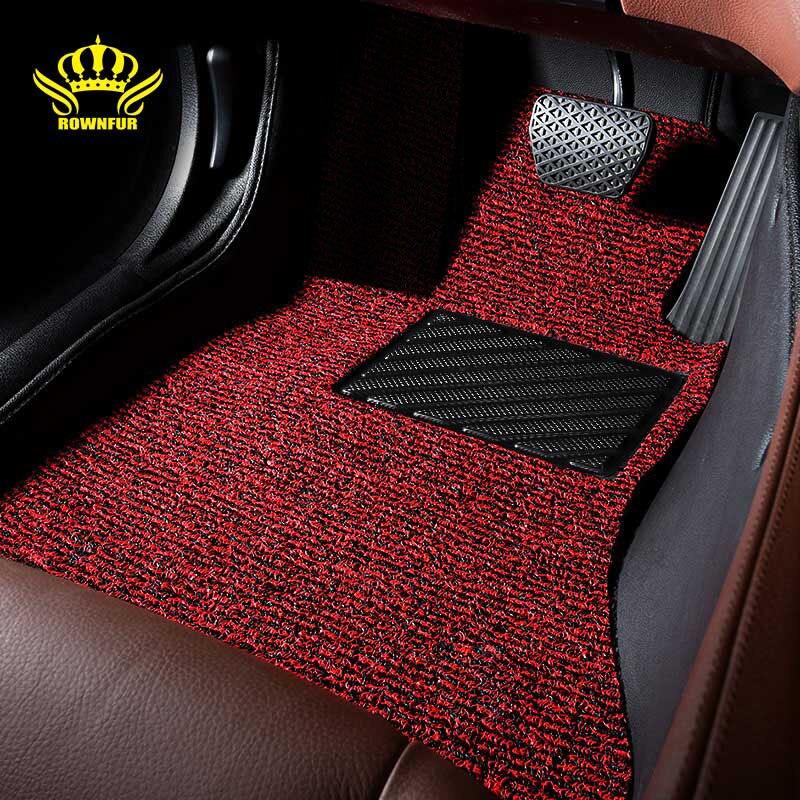 Wire car floor mat For Toyota camry land cruiser 100 200 Prado 150 Automotive interior protect car mats