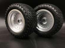 1/7 Off Road RC Racing Truggy Moonster 142mm zestaw opon do Kyosho Scorpion XXL 31873T2. 2 sztuk