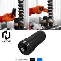 nicecnc aluminum atv shock reservoir extened bladder cap for yamaha yfm700 raptor 2013 2014 yfm700r raptor 2006 2009 2011 2014