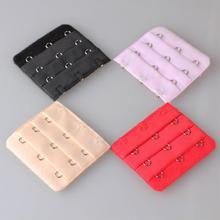 Ceinture ajustable pour soutien-gorge à 3 crochets, 4 pièces/ensemble, Extension de sangle élastique, intime