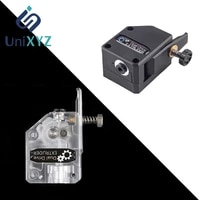 3d printer parts bmg extruder clone dual driver upgrade bowden extruder 1 75mm feeder with 31 gearing ratio black transparent