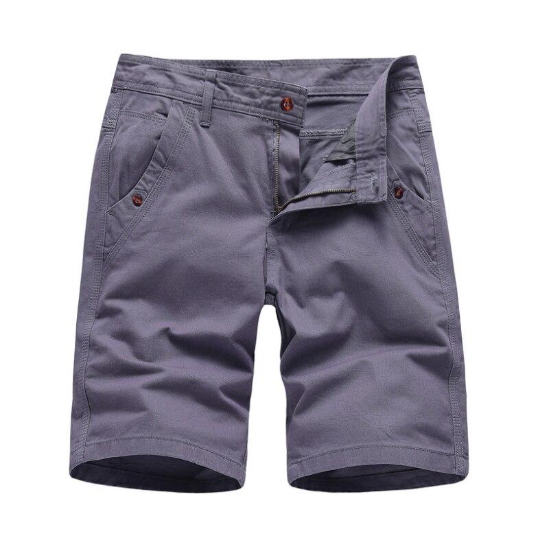 Брендовые новые мужские шорты-карго 2020, высококачественные черные военные шорты, мужские хлопковые однотонные повседневные пляжные шорты, ...