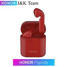 Huawei Honor Flypods Pro Drahtlose Kopfhörer Hallo-fi TWS Bluetooth Kopfhörer Kopfhörer Wasserdicht IP54 Tap control Drahtlose Lade