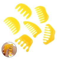 1pc traditional chinese beeswax comb massage spa acupuncture head therapy treatment head guasha board hot