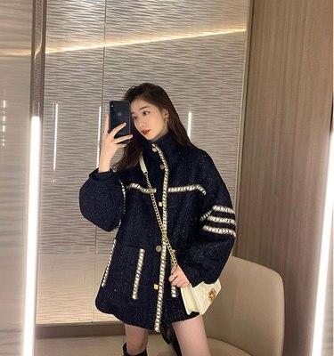 fashion Women Hairy Autumn Winter Zipper Loose Short Coat Ladies Pocket Elegant Wool Overcoat Outer Wear Plus Size
