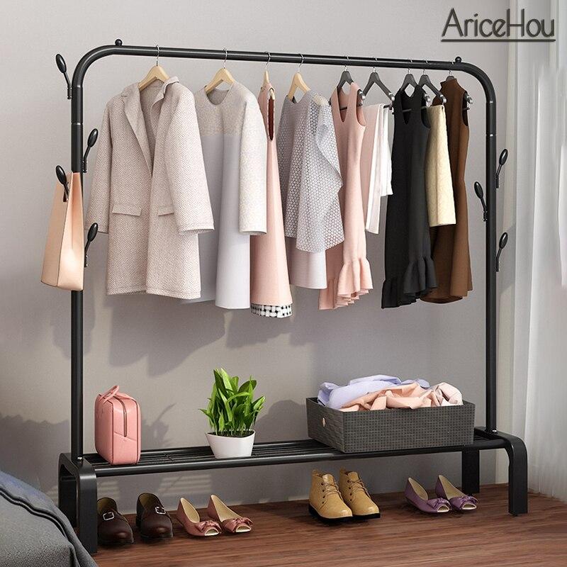 Съемная Вешалка для пальто, вешалка для одежды с колесиками, шкаф для сушки одежды, стеллаж для хранения, органайзер, держатель для одежды, п...