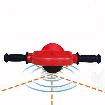 Nenhum ruído 360 graus roda abdominal ab rolo exercício equipamentos de ginástica barriga muscel trainer exercício ferramentas corpo massageador