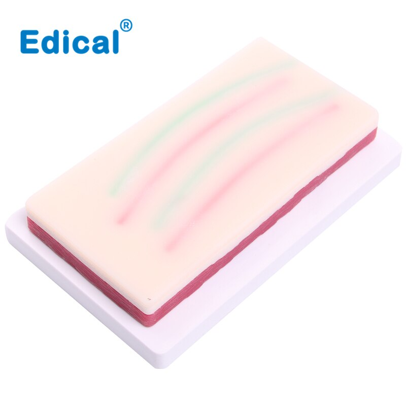 Surgical Skin Suture Practice Module Silicone Skin Injection Suture Training Medical Surgical Practice Equipment